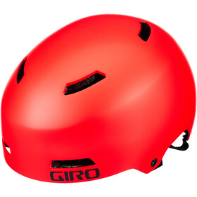 Giro Dime FS Casco Niños, matte bright red